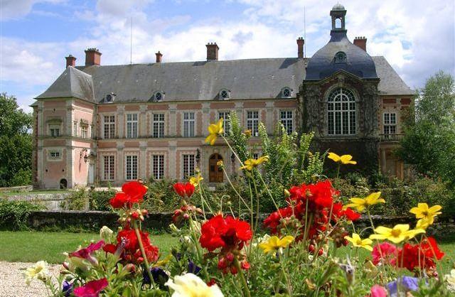 photos chateau et fleurs1