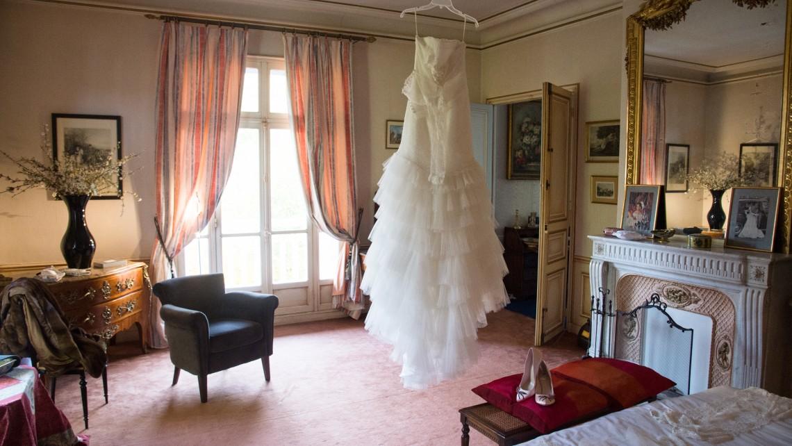 robe de mariee tigeaux